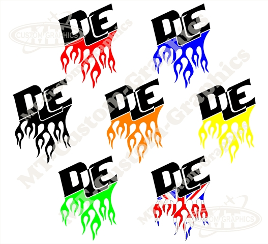 DLE Flamed Logo