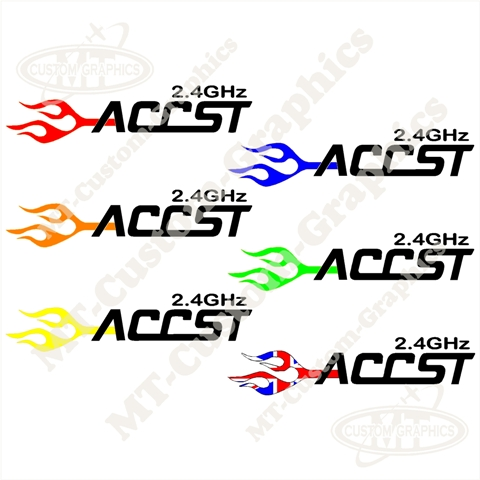 FrSKY ACCST Flame Logo