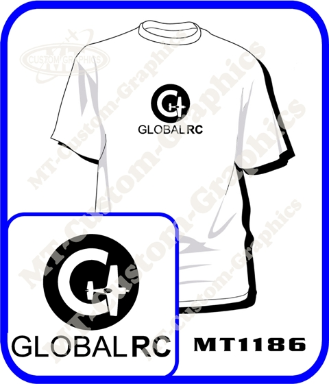 Global-RC T-Shirt Front logo Only