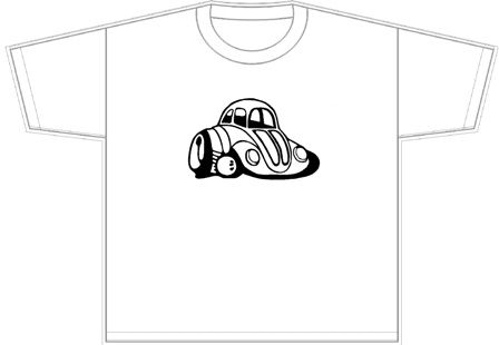 VW Beetle T-shirt(2)
