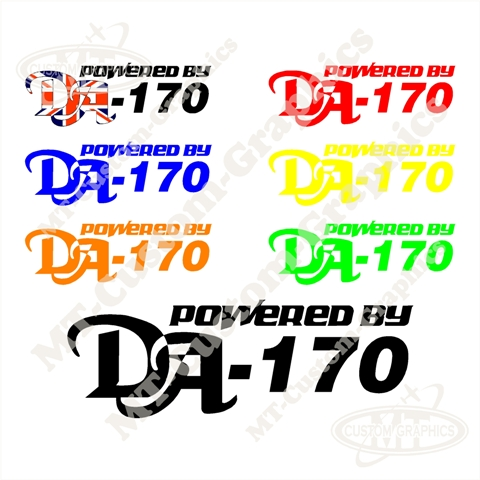 Powered By DA-170 Logo