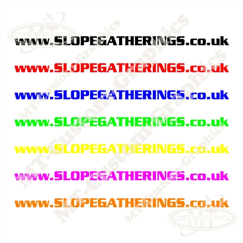 Slope Gatherings Web Address