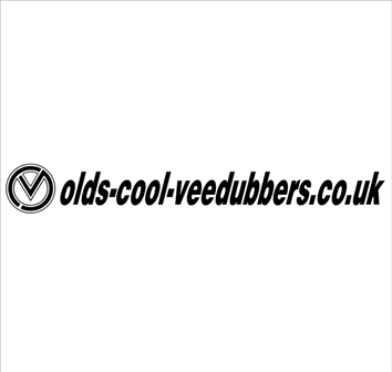 VDUB web sticker with logo