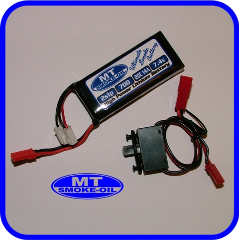 "MT ""Ultimate"" Smoke Pump Battery Set (Lipo)"