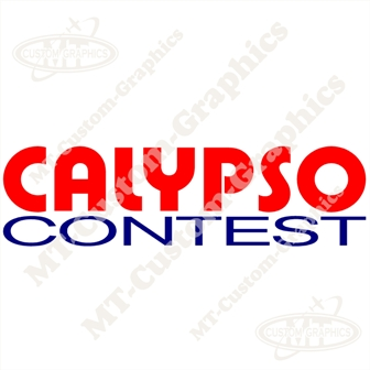 Calypso Contest Sticker