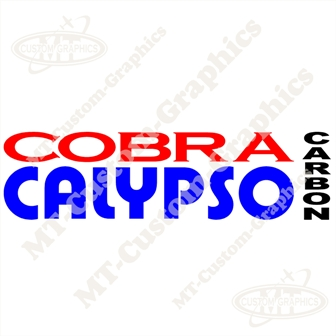 Cobra Calypso Carbon Sticker