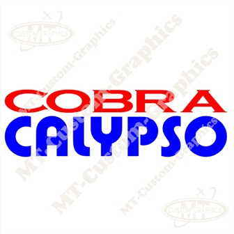 Cobra Calypso Sticker